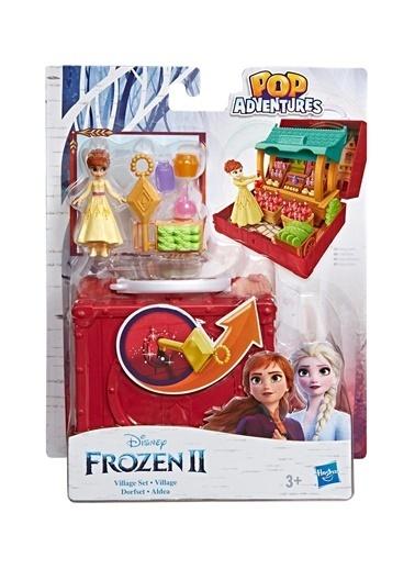 Hasbro Disney Frozen 2 Pop-Up Anna Kasabada Oyun Seti Renkli